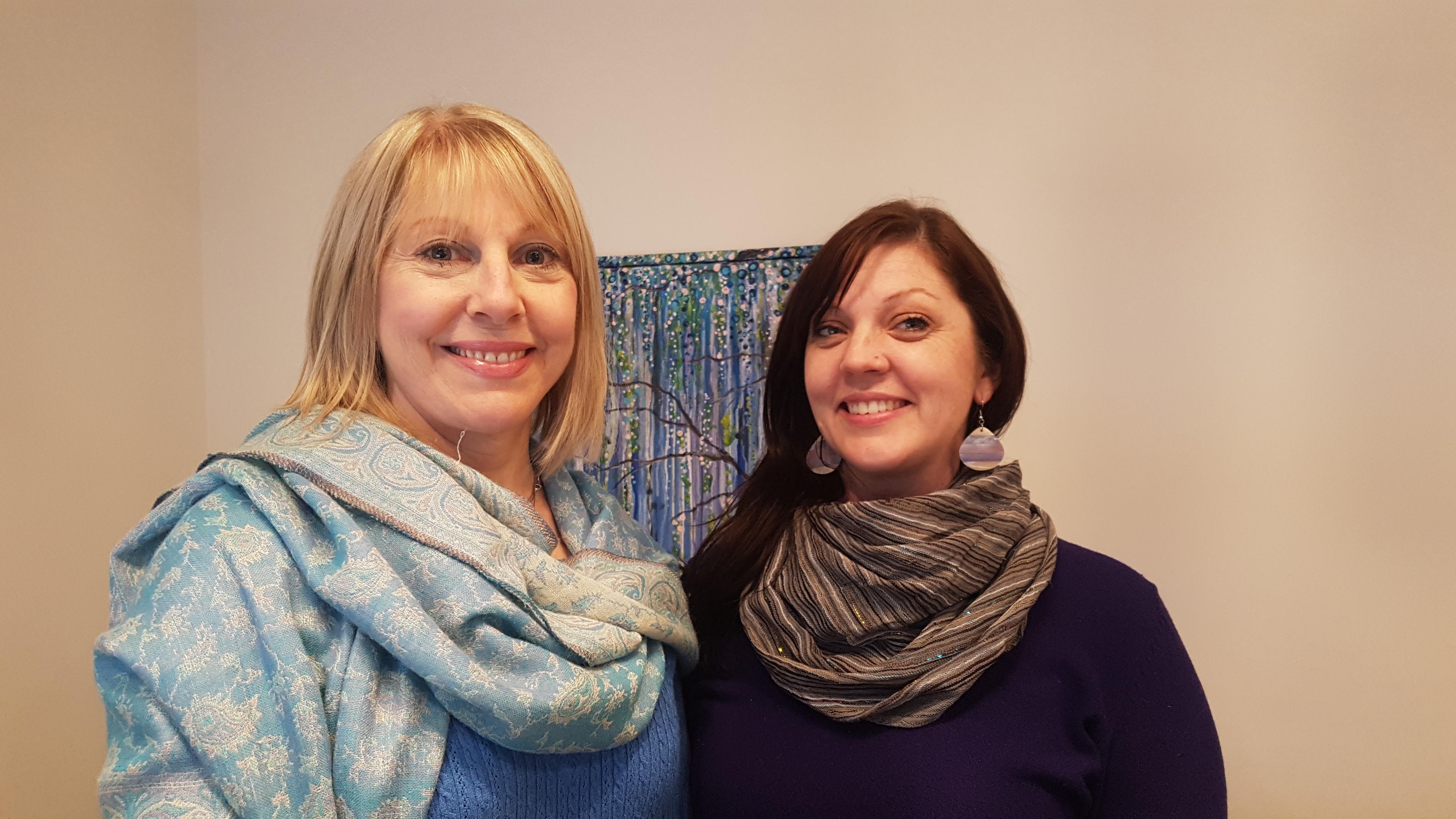 Elyse and Leslie -Jan19