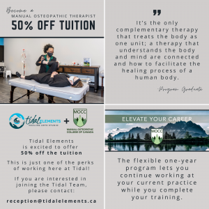 become a manual osteopathic therapist in vernon bc with a tuition discount