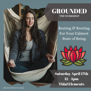 root chakra grounding workshop self care vernon bc april 2021