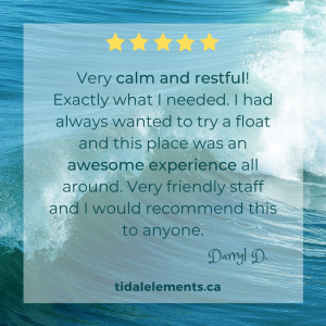 float therapy review vernon bc